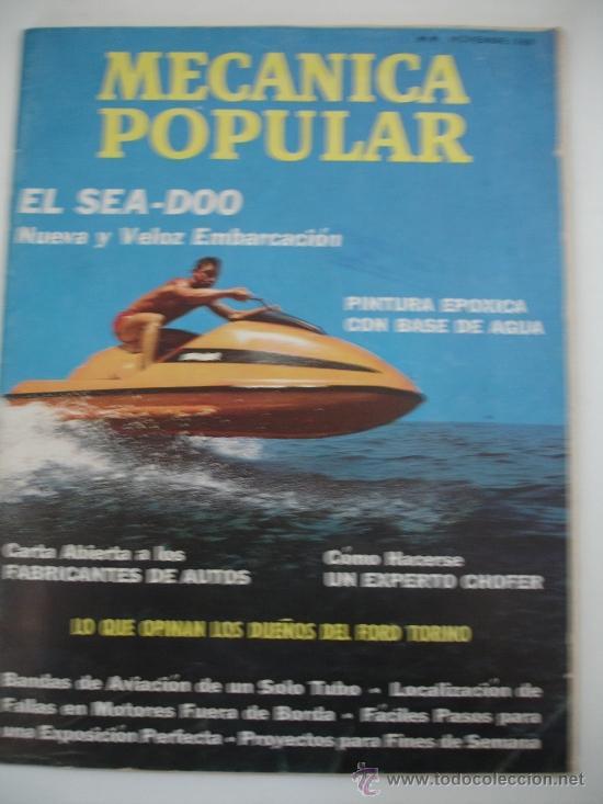 MECÁNICA POPULAR (Coches y Motocicletas Antiguas y Clásicas - Revistas de Coches)