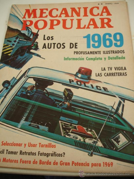 REVISTA MECANICA POPULAR (Coches y Motocicletas Antiguas y Clásicas - Revistas de Coches)