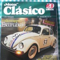 Coches: MOTOR CLASICO Nº 227, DICIEMBRE DE 2006. Lote 31260157