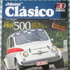 Coches: MOTOR CLASICO Nº 229, FEBRERO DE 2007. Lote 31327271