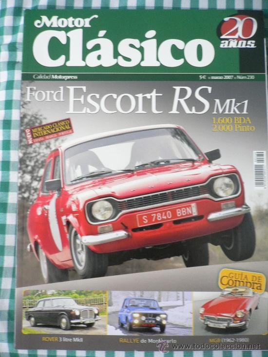 MOTOR CLASICO Nº 230, MARZO DE 2007 (Coches y Motocicletas Antiguas y Clásicas - Revistas de Coches)