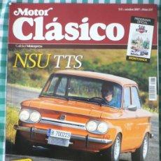 Coches: MOTOR CLASICO Nº 237, OCTUBRE DE 2007. Lote 31327442