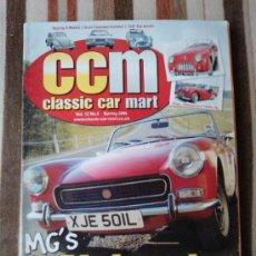 Coches: CLASSIC CAR MART -V12-N5-INGLES-MG MIDGET-TRIUMPH 7R3- CITROEN 2CV-VW BEETLE-. Lote 31639294