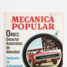 Coches: REVISTA MECANICA POPULAR Nº3, VOLUMEN 46, AÑO 1970. Lote 31757296