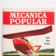 Coches: REVISTA MECANICA POPULAR Nº3, VOLUMEN 31, AÑO 1962. Lote 31758160