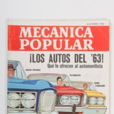 Coches: REVISTA MECANICA POPULAR Nº1, VOLUMEN 32, AÑO 1963. Lote 31766115