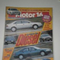 Coches: MOTOR 16 Nº 645 - AUDI A4 1.9 TDI / BMW 525 TDS / HONDA ACCORD TDI / VOLKSWAGEN POLO D / VOLVO S40 . Lote 32090631