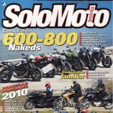 Coches: REVISTA SOLO MOTO TREINTA Nº 318 AÑO 2010. PRUEBA: MORINI SCRAMBLER 1200. MOTO GUZZI ESTELVIO NTX. M. Lote 32132728