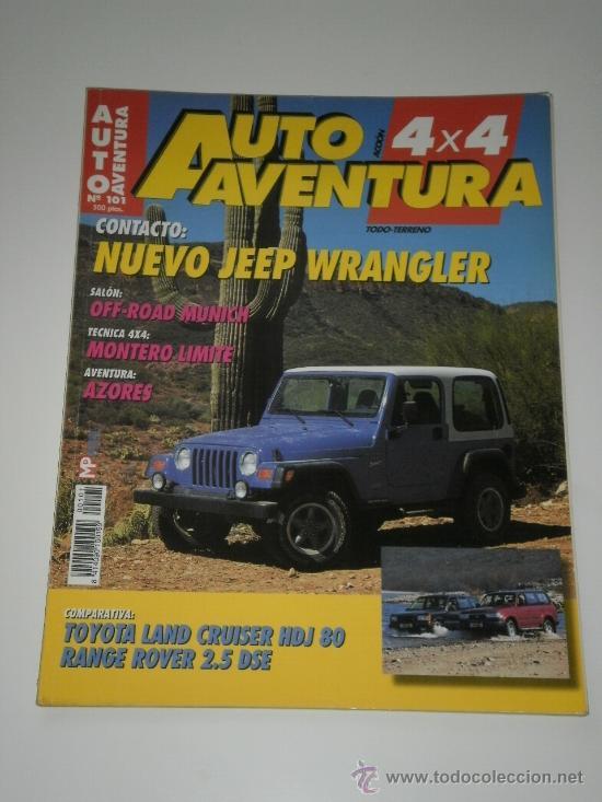 auto aventura 4x4 nº 101 - toyota land cruiser - kaufen alte