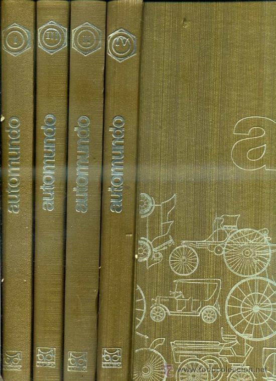 AUTOMUNDO CODEX - 6 TOMOS (1969) (Coches y Motocicletas Antiguas y Clásicas - Revistas de Coches)