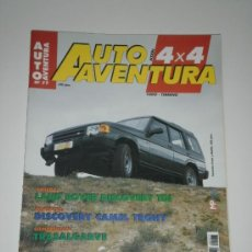 Coches: AUTO AVENTURA 4X4 Nº 77 - LAND ROVER DISCOVERY TDI / DISCOVERY CAMEL TROPHY / KETTENKRAFTRAD ORUGA . Lote 32193478