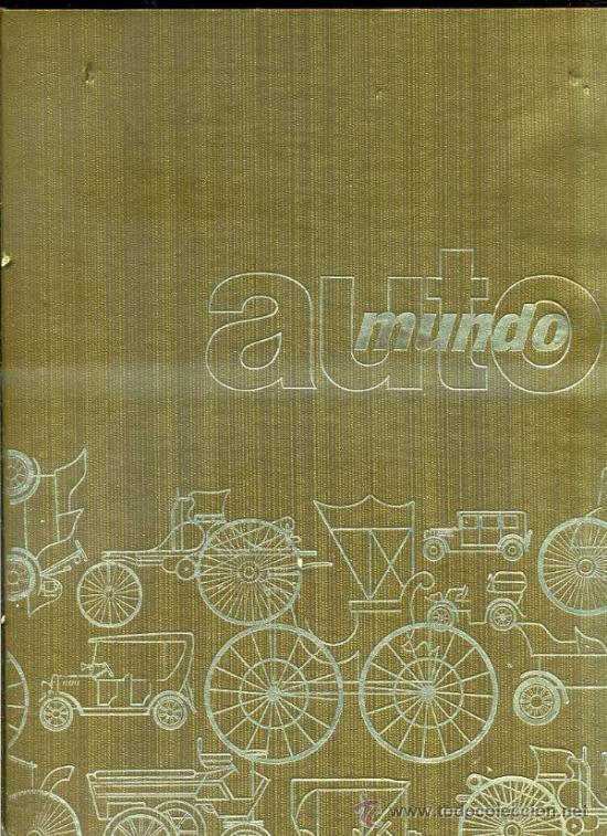 Coches: AUTOMUNDO CODEX - 6 TOMOS (1969) - Foto 2 - 32190259