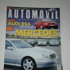 Coches: AUTOMOVIL Nº 270 - MERCEDES C 320 / AUDI RS4 / MERCEDES AMG CLK 55 - CL 55 - E 55 - S 55 - G 55. Lote 47005478
