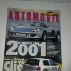 Coches: AUTOMOVIL Nº 274 - RENAULT CLIO V6 / MITSUBISHI CARISMA EVO VI / PEUGEOT 607 V6 / CHRYSLER 300 M. Lote 32271413