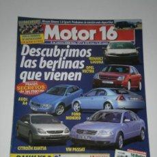 Coches: MOTOR 16 Nº 877 - NISSAN ALMERA 1.8 SPORT / BMW X5 3.0 / GP ALEMANIA FORMULA 1. Lote 32359201