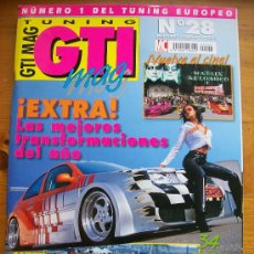 Coches: GTI MAG TUNING Nº28 / EXTRA. Lote 32408852