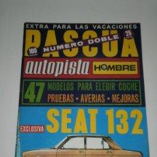 AUTOPISTA Nº 685-686 - TODOS LOS COCHES AUTHI SEAT CITROEN RENAULT SIMCA /DODGE 3700 SALON GINEBRA
