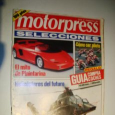 Coches: MOTORPRESS SELECCIONES Nº 17 - EL MITO DE PININFARINA . Lote 32560602
