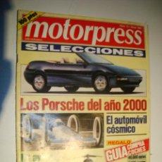 Coches: MOTORPRESS SELECCIONES Nº 13 - MAYO 1991 - LOS PORSCHE DEL AÑO 2000. Lote 32560626