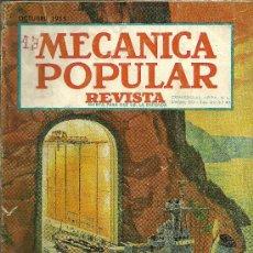 Coches: REVISTA MECANICA POPULAR - VOLUMEN 17. Nº 4 - DICIEMBRE 1955. Lote 32756410