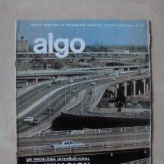 Coches: REVISTA ALGO Nº 53 MARZO 1966. HYMSA .LA INVASION DEL AUTOMOVIL. Lote 33443281