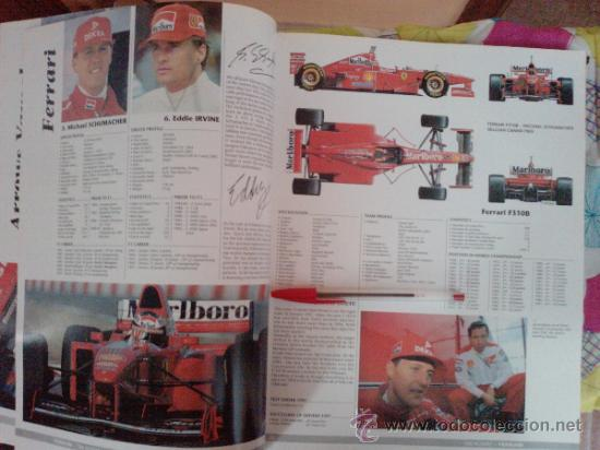 Coches: LIBRO FORMULA 1 YEARBOOK 1997-1998-FORWORD BY OLIVER PANIS -FORMATO GRANDE-INGLES - Foto 8 - 33694398
