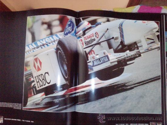 Coches: LIBRO FORMULA 1 YEARBOOK 1997-1998-FORWORD BY OLIVER PANIS -FORMATO GRANDE-INGLES - Foto 3 - 33694398