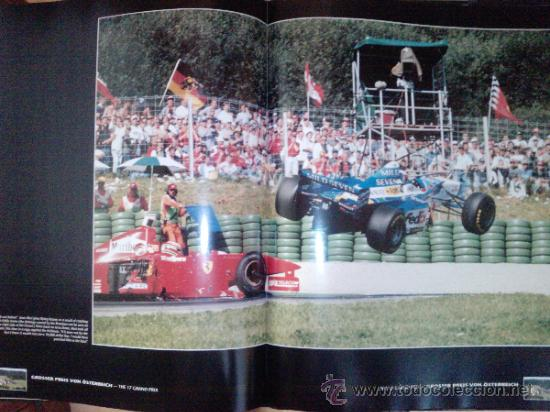 Coches: LIBRO FORMULA 1 YEARBOOK 1997-1998-FORWORD BY OLIVER PANIS -FORMATO GRANDE-INGLES - Foto 2 - 33694398