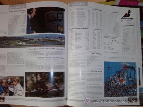 Coches: LIBRO FORMULA 1 YEARBOOK 1997-1998-FORWORD BY OLIVER PANIS -FORMATO GRANDE-INGLES - Foto 9 - 33694398