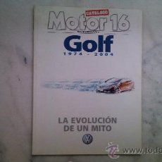 Coches: REVISTA MOTOR 16 AÑO 2004 Nº86. Lote 33724514