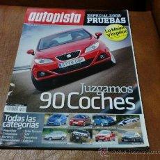 Coches: REV. AUTOPISTA.-ESPECIAL PRUEBAS 2008.-JUZGAMOS 90 COCHES. Lote 33973623