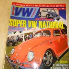 Coches: REVISTA SUPER VW VOLKSWAGEN ESCARABAJO NUMERO 16 AUTOMOVIL MC EDICIONES. Lote 34020822