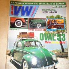 Coches: REVISTA SUPER VW VOLKSWAGEN ESCARABAJO NUMERO 12 AUTOMOVIL MC EDICIONES. Lote 34020914