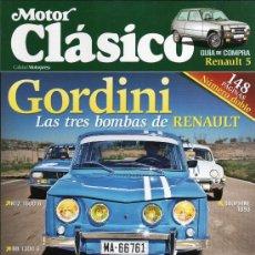 Coches: MOTOR CLASICO N. 294 JULIO/AGOSTO 2012 - EN PORTADA: RENAULT GORDINI (NUEVA). Lote 126129634