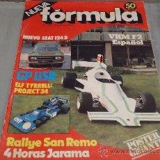 Coches: REVISTA FORMULA Nº 125 - OCTUBRE 1975. Lote 34277354