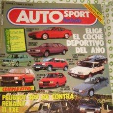 Coches: REVISTA AUTO HEBDO Nº 76 PEUGEOT 309 CITROEN CX COCHES CLASICOS AUTOMOVIL FORMULA 1 RALLYE. Lote 63417438