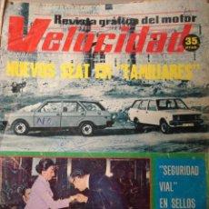 Autos - REVISTA VELOCIDAD - 761- Nuevos Seat 131 familiares - Fiat Seat 128 sport 3p prueba - 34682073