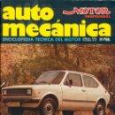Coches: AUTOMECANICA Nº 97 DICIEMBRE 1977 SEAT 127 . Lote 35052691