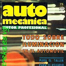 Coches: AUTOMECANICA Nº 103 1978 . Lote 35053060