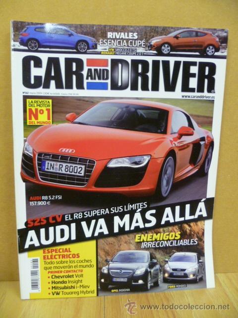 REVISTA - CAR AND DRIVER - (Coches y Motocicletas Antiguas y Clásicas - Revistas de Coches)