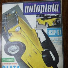 Coches: AUTOPISTA EL SEMANARIO EUROPEO DEL MOTOR Nº 433 27-MAYO 1967. Lote 35171760