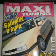 Coches: MAXI TUNING Nº 9 - ABRIL 1997 - OPEL ASTRA / RENAULT CLIO / PEUGEOT 306 / EN FRANCES. Lote 35412529