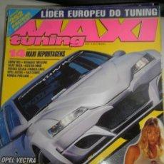 Coches: MAXI TUNING Nº 27 - OPEL VECTRA / BMW M3 / RENAULT MEGANE / SEAT IBIZA / AUSTIN MINI / OPEL ASTRA. Lote 133516455