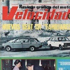 Autos - REVISTA VELOCIDAD Nº 761 AÑO 1976. PRUEBA: FIAT 125 SPORT 3 PUERTAS. - 35530273