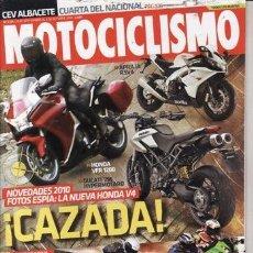 Coches: REVISTA MOTOCICLISMO Nº 2171 AÑO 2009. PRUEBA: HARLEY DAVIDSON XR 1200X. KAWASAKI KLC 125. HUSQVARNA. Lote 35669827