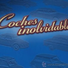 Coches: COCHES INOLVIDABLES. ARCHIVADOR CON LAS FICHAS CORRESPONDIENTES.. Lote 35780331