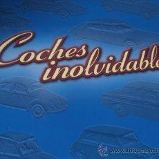 Coches: COCHES INOLVIDABLES. ARCHIVADOR CON LAS FICHAS CORRESPONDIENTES.. Lote 35780778