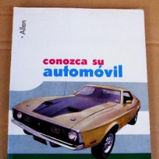 Coches: CONOZCA SU AUTOMÓVIL. Lote 35852449