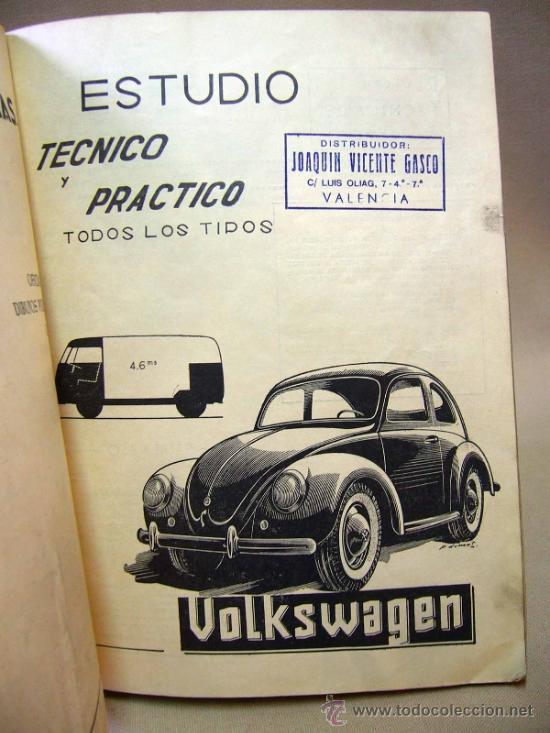 Coches: REVISTA, REVISTA TECNICA DEL ATOMOVIL, VOLKSWAGEN, TODOS LOS TIPOS, Nº 6, 1958 - Foto 7 - 36404701