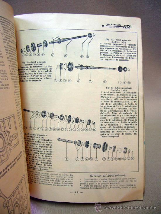 Coches: REVISTA, REVISTA TECNICA DEL ATOMOVIL, VOLKSWAGEN, TODOS LOS TIPOS, Nº 6, 1958 - Foto 9 - 36404701